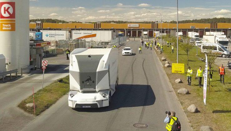 Einride T-Pod camión