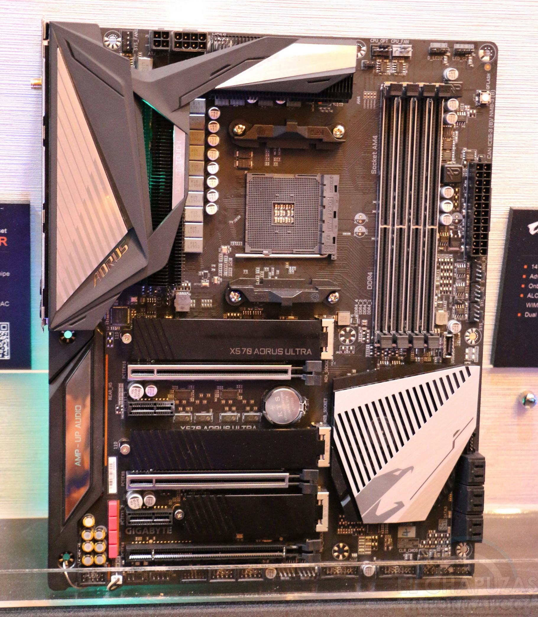 Computex: Gigabyte X570 Aorus Ultra, X570 Aorus Master