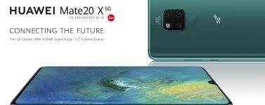 Huawei Mate 20 X 5G anunciado: 5G y menos batería pero con carga rápida de 40W