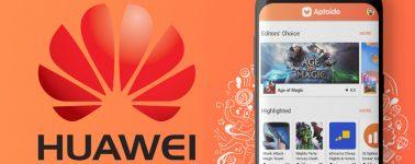 Huawei inicia las conversaciones con Aptoide para reemplazar la Play Store