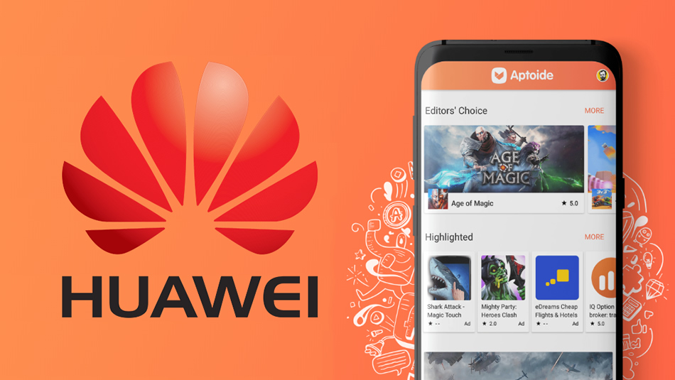 Huawei y Aptoide 0