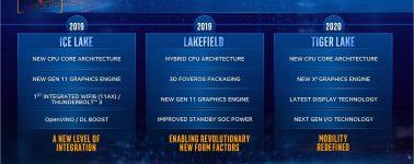 Se filtra una CPU Intel Tiger Lake (10nm) @ 3.40 GHz: 50% más de memoria caché L3 y AVX-512