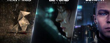 Heavy Rain tendrá una demo el 24 de Mayo en la Epic Games Store; Beyond: Two Souls en Junio