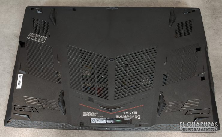 MSI GL73 8SE - Base