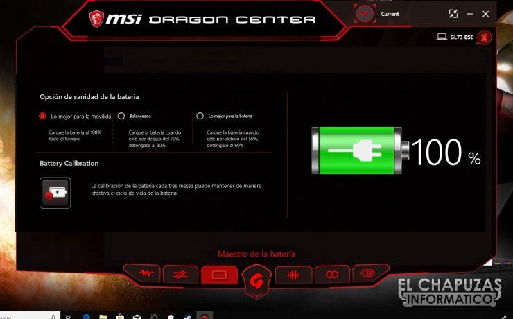 MSI GL73 8SE - Software 03
