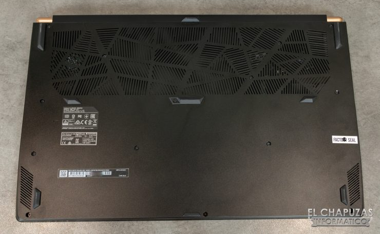 MSI GS75 Stealth 8SF - Base