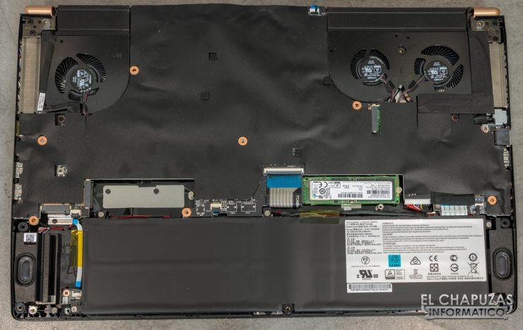 MSI GS75 Stealth 8SF - Interior