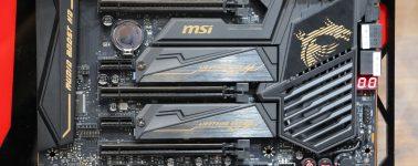 La placas base X570 de MSI partirán en los 200 euros hasta alcanzar casi los 800 euros