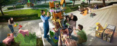 Minecraft Earth es el juego de Realidad Aumentada orientado a teléfonos inteligentes