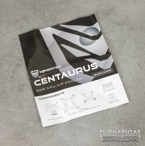 Nfortec Centaurus - Manual