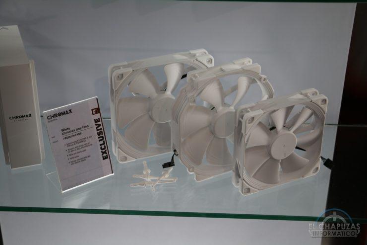 ventiladores blancos
