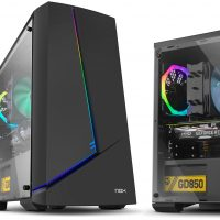 Nox Infinity Alpha e Infinity Omega: Ventana panorámica e iluminación RGB a muy bajo precio