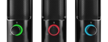 Ozone REC X50: Micrófono de sobremesa para streamers con iluminación LED