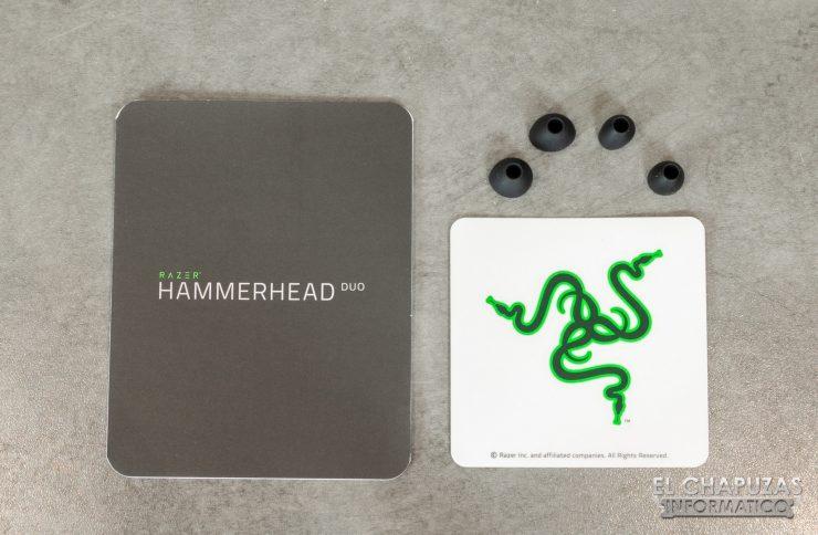 Razer Hammerhead Duo - Accesorios