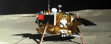 El rover de China encuentra minerales extraños en el lado oculto de la Luna