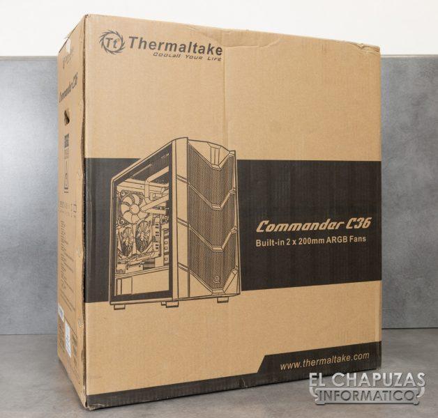 Thermaltake Commander C36 TG ARGB Edition - Embalaje Exterior