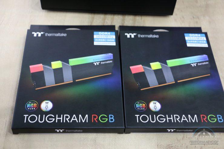 Toughram RGB Embalaje