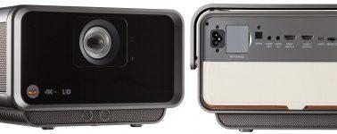 ViewSonic X10-4K: Proyector de tiro corto con resolución 4K y sonido Harman Kardon