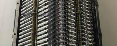 Elon Musk muestra los 60 primeros satélites de Internet Starlink que lanzará SpaceX
