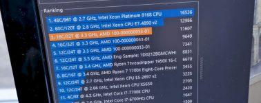 AMD Ryzen 9 3950X @ 5.00 GHz en todos sus núcleos con LN2 y la MSI MEG X570 GODLIKE con DDR4 @ 5100 MHz