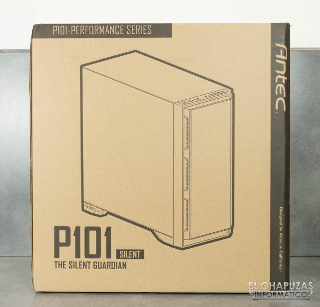 Antec P101 Silent - Embalaje 1