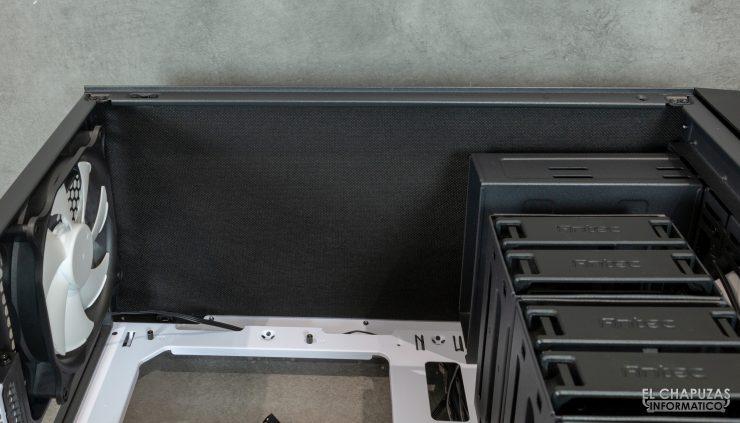 P101 Silent - Interior - Lado superior