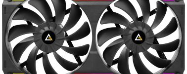 Antec Prizm Cooling Matrix: Doble ventilador para chasis en un único marco