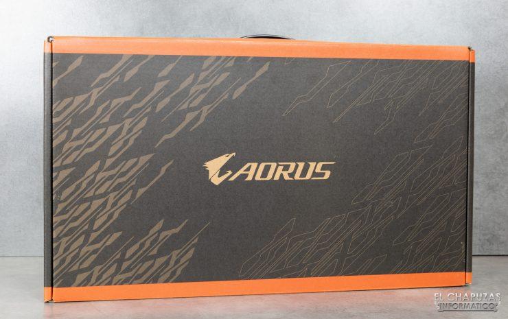 Aorus 15-SA - Embalaje Exterior