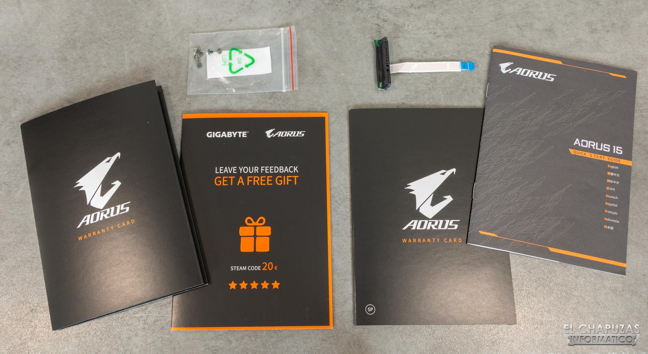 Review: Gigabyte Aorus 15-SA (i7-9750H + GTX 1660 Ti)