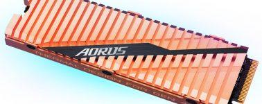 Gigabyte lanza su Aorus NVMe Gen4 SSD, el SSD M.2 más rápido, y caro, del mercado