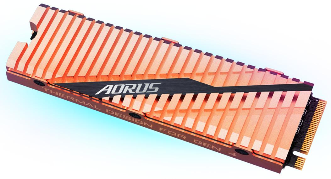 Aorus NVMe Gen4 SSD 0