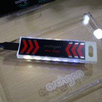#Computex: Archgon G70, dice ser el primer SSD externo con iluminación RGB