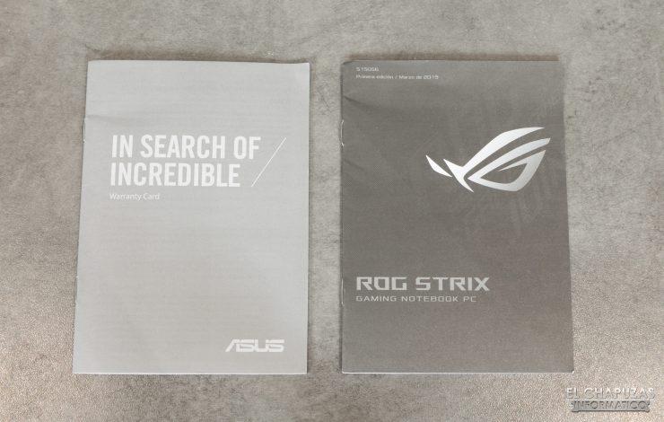 Asus ROG Strix G531G - Accesorios 1