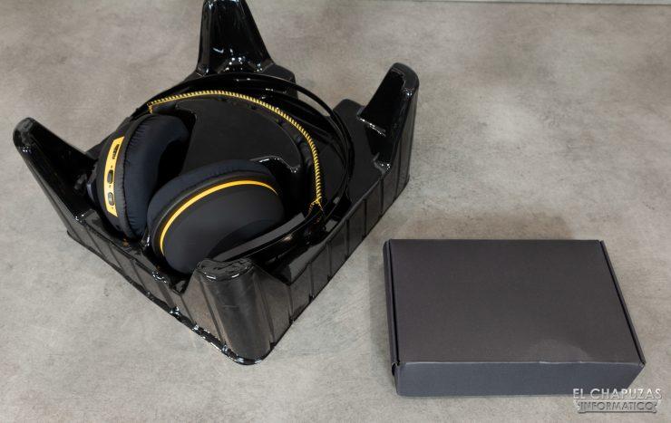 TUF Gaming H7 Wireless - Embalaje Interior