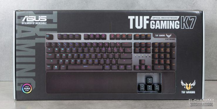 TUF Gaming K7 - Embalaje Frontal