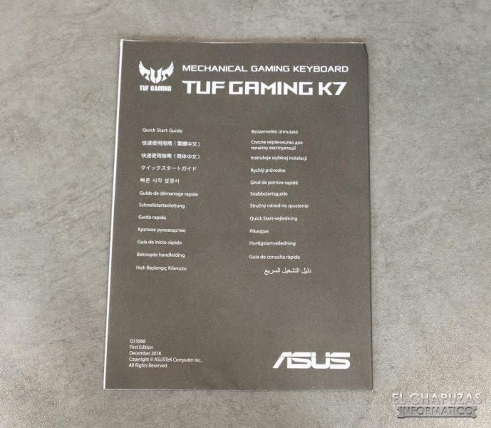 TUF Gaming K7 - Manual
