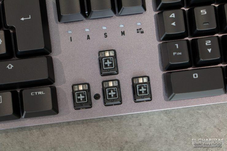 TUF Gaming K7 - Interruptores LK