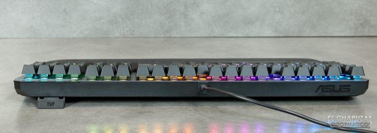 TUF Gaming K7 - Vista lateral 4