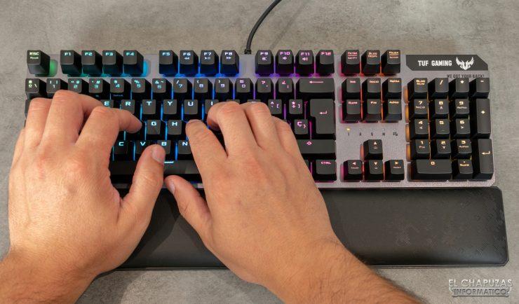 TUF Gaming K7 - Pruebas