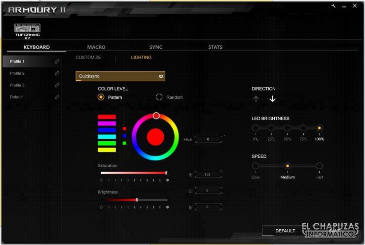 TUF Gaming K7 - Software 2