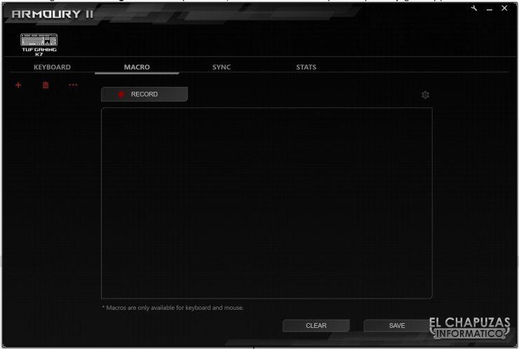 TUF Gaming K7 - Software 3