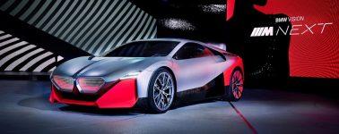 BMW presenta el Vision M Next, un híbrido enchufable de 600 CV