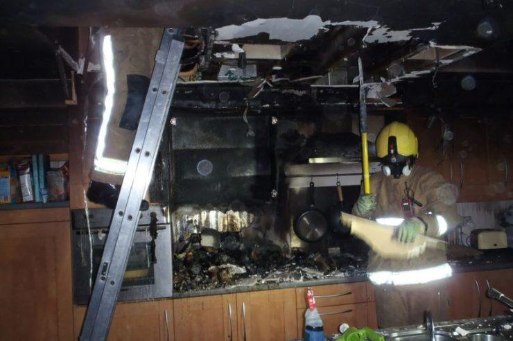 Cocina quemada por un iPad 740x492 0