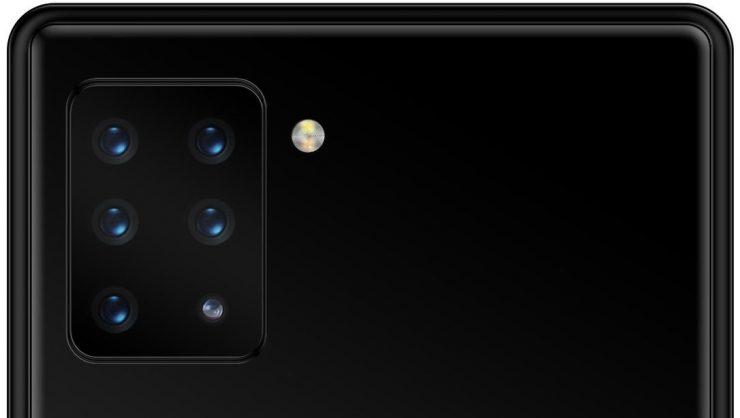 Smartphone Sony con 6 cámaras