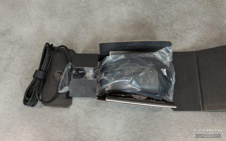 M55 RGB Pro - Embalaje Interior