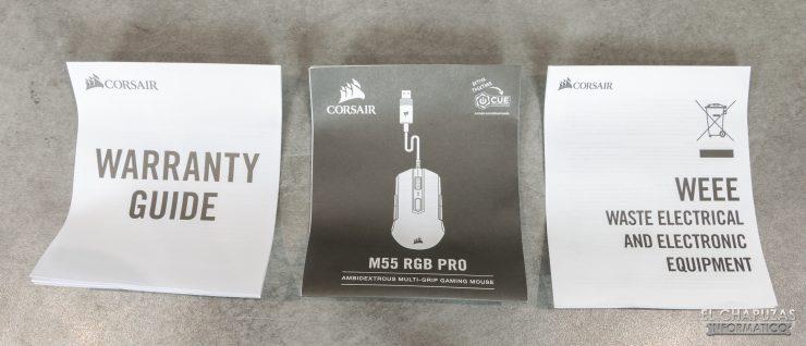 M55 RGB Pro - Documentación