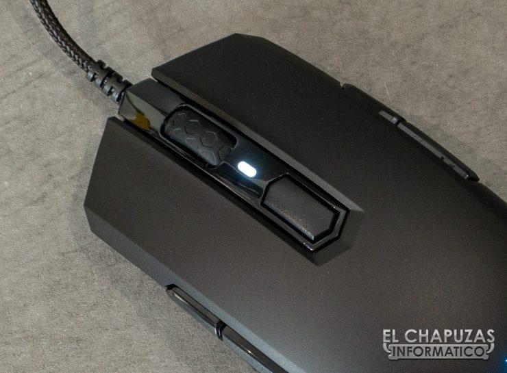 M55 RGB Pro - Botones Principales
