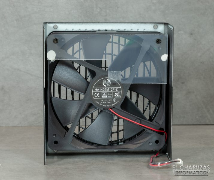 Corsair RM Series - Vista Interior - Ventilador