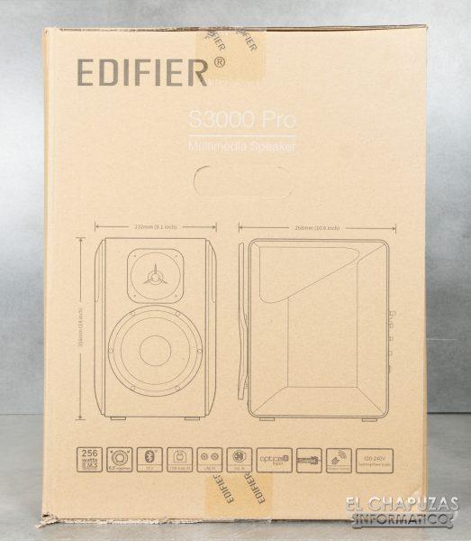 Edifier S3000 Pro - Embalaje Exterior 3