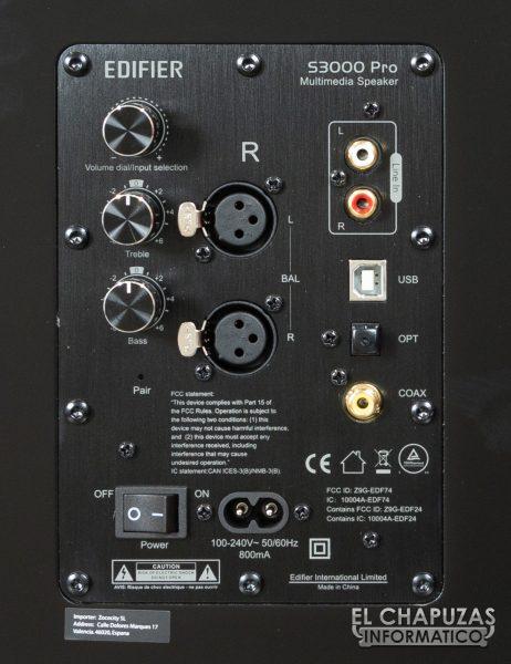 S3000 Pro - Conexiones